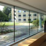 Referenzbild Bezirksregierung Detmold Ansicht von Innen nach Draußen