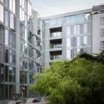 Referenzbild P7 Berlin – Außenansicht Gebäude Innenhof, Hochformat