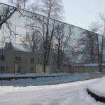 Klinik Neuruppin Ansicht bei Schnee