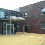 Referenzbild Fachhochschule Kiel Eingang