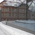Referenzbild Klinikum Neuruppin Glasfront