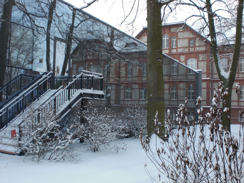 Referenzbild Klinikum Neuruppin im Winter