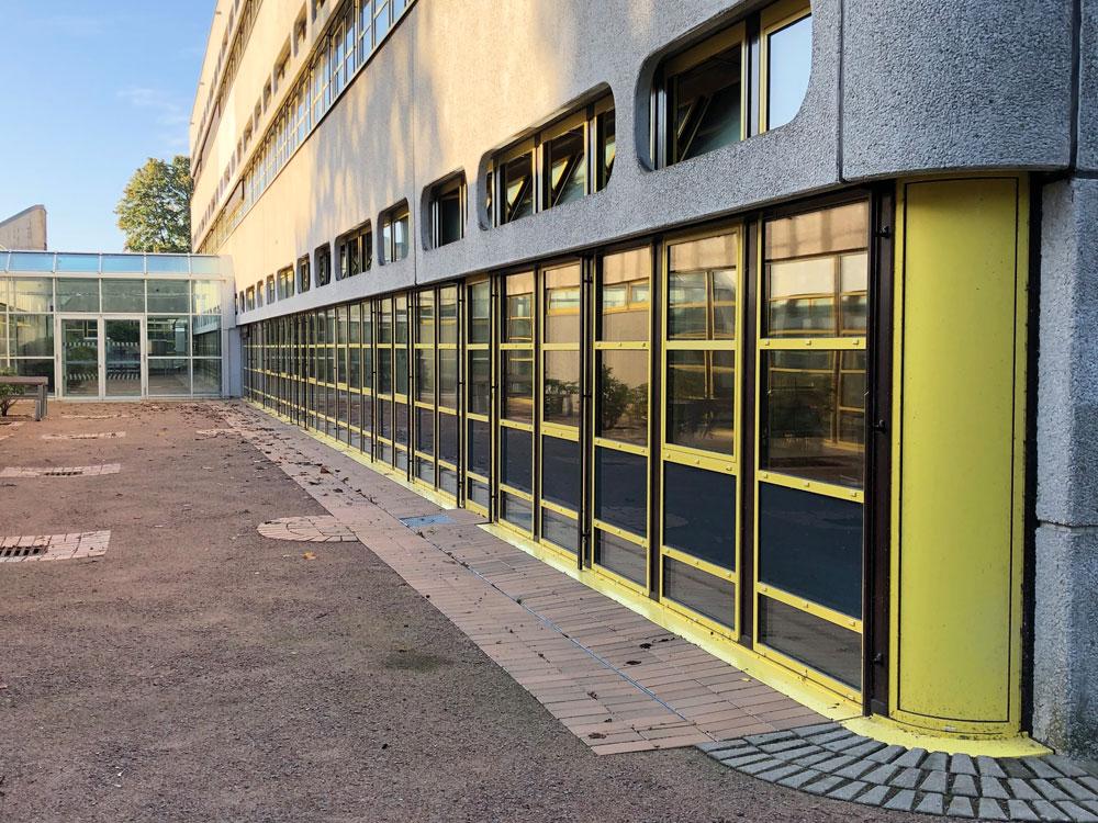 Referenzbild Schule Bad Oldesloe Außenwand