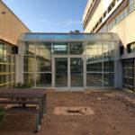 Referenzbild Schule Bad Oldesloe Glasdurchgang