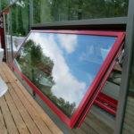 Referenzbild Schule Heikendorf Fenster aufgeklappt